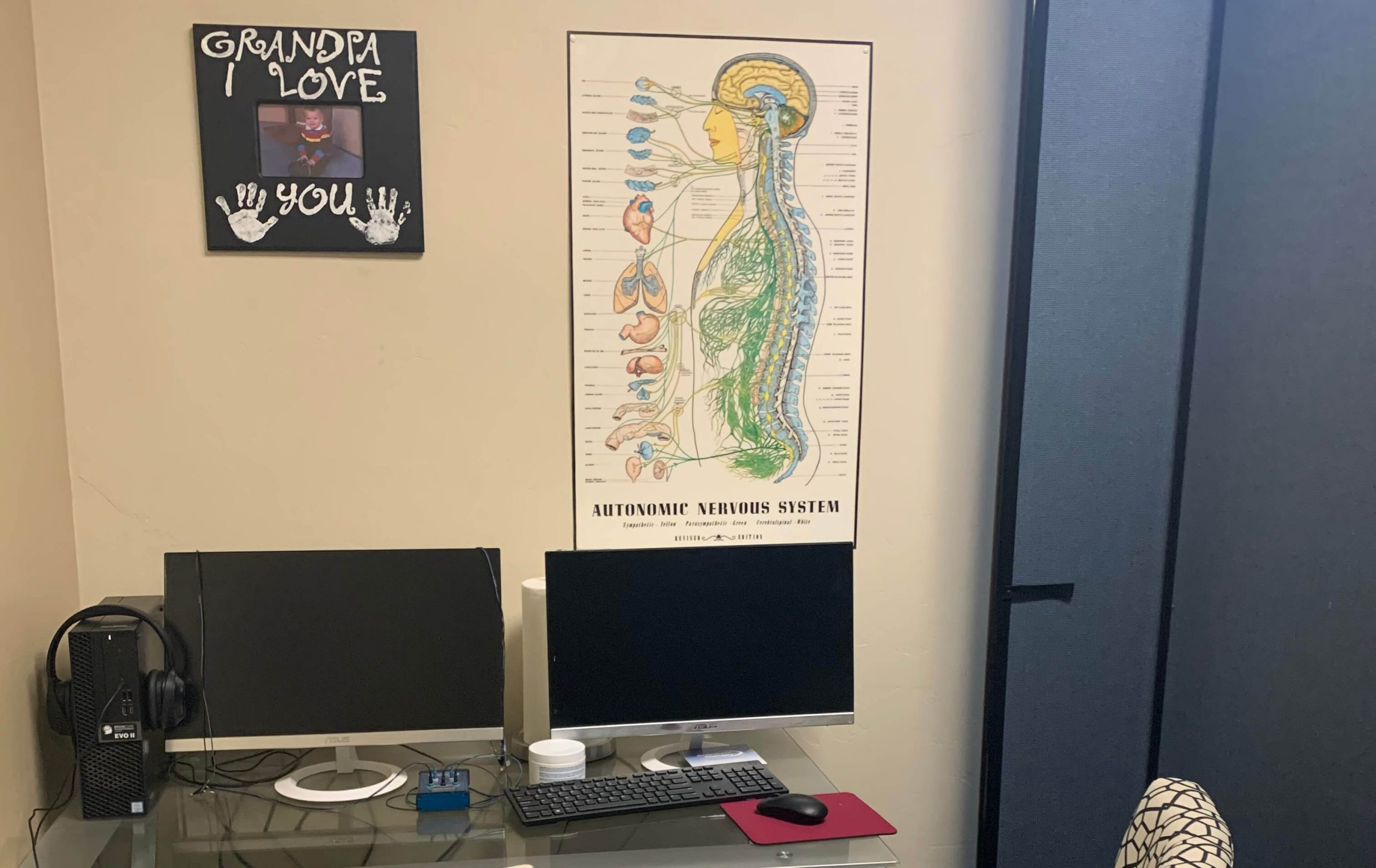 autonomic nervous system poster office setting